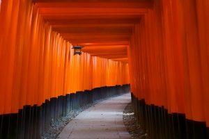 京都の幻想的風景