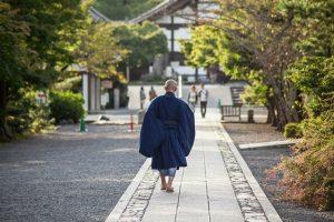 京都お寺のおぼうさん